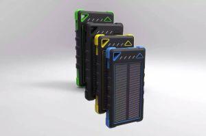 Phone Accessories Dual-USB 8000mAh Solar Panel Power Bank (SC-1788) pictures & photos
