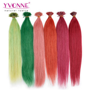 Brazilian I-Tip Human Hair Extensions pictures & photos