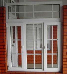 China Factory 60 Series UPVC/ PVC Profile Casement Window