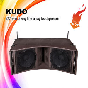 "High Quality Kudo Dual 12"" Line Array Speaker, Line Array System pictures & photos"