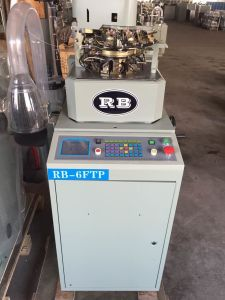 3.75′′ Full Automatic Terry and Plain Socks Knitting Machine