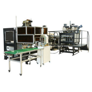 Automatic Box Making Machine with Automatic Pressing Function (YX-6418A) pictures & photos