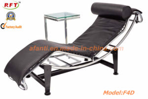 Comfortable Modern Leather Hotel Steel Leisure Lounge Chair (RFT-F7D) pictures & photos