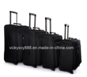 2 Wheels Waterproof Trolley Wheeled Luggage Travel Case Bag (CY3403) pictures & photos