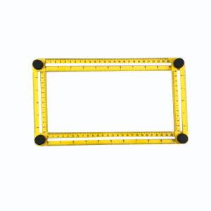 Multi Angle ABS Ruler Measures All Angles and Forms Angleizer Template Tools pictures & photos