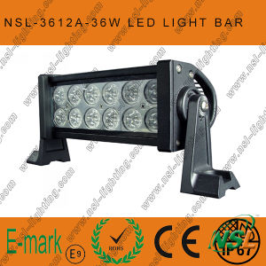 13.5′′ 36W 12LED Offroad Light Bars for Truck Boat Hight Brighness IP67 LED Work Light Bar pictures & photos