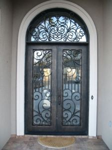 Wrought Iron Doors Grill Design