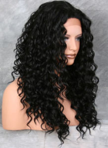 Kinky Curly Brazilian Virgin Human Hair Full Lace Wig pictures & photos