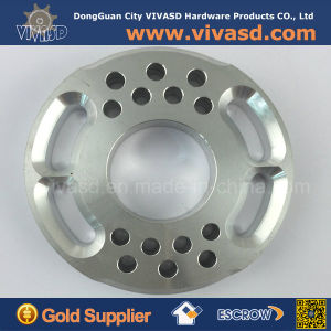 CNC Milling Parts Custom Aluminum CNC Turning Flange Ring pictures & photos