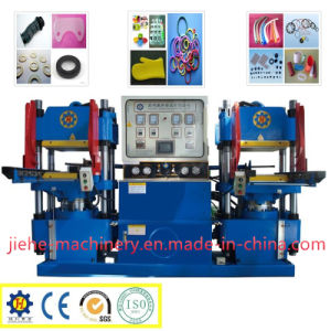 High Performance Double Station Rubber Clamping Molding Machine pictures & photos
