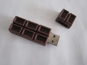 Customized Design Soft Rubber USB Flash Drive (OM-P322) pictures & photos