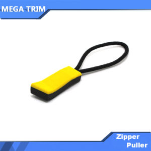 Custom Solid Plastic Zipper Puller pictures & photos