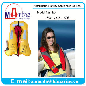 China Manufacturer Solas Inflatable Life Jackets pictures & photos