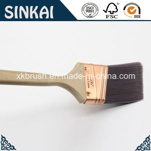 Angular Painting Brush with Brushed Cooper Ferrule pictures & photos