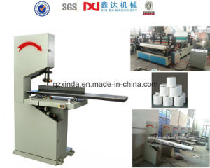 Manual Band Saw Toilet Paper Roll Cutter Machine pictures & photos