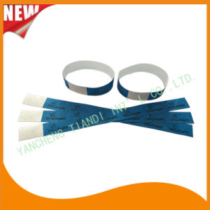 Tyvek Entertainment Custom Party VIP Paper ID Wristbands (E3000-1-75) pictures & photos