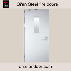Steel Fire Door with Fireproof Vision Glass pictures & photos