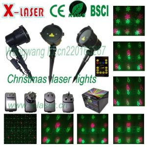 2016 New Red Green Waterproof Outdoor Garden Christmas Laser Lights pictures & photos