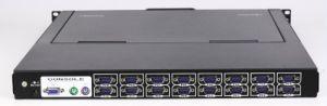 4ports 8ports 16ports 1u Rack Mount 19′′ LED Kvm Switch pictures & photos