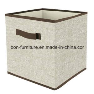 Houseware Foldable Storage Cube with Farbic Material pictures & photos