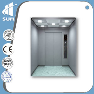 Capacity 630kg Hairline Stainless Steel Residential Elevator pictures & photos