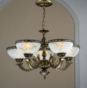 Glass and Iron Classical Chandelier Saudi Arabia pictures & photos