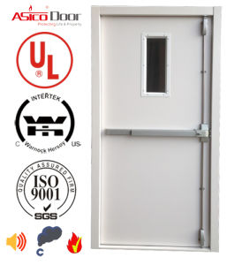 American Standard UL-10b 10c 1.0, to 3.0hours Fire Rating Steel Fire Door, Steel Safety Door pictures & photos
