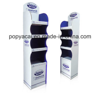 Cmyk Printing Corrugated Cardboard Display, Pop Display Stand, Paper Display Shelf pictures & photos