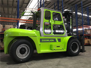 Zoomlion Fork Lifter 10tonne Truck Forklift for Sale pictures & photos