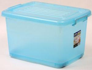 Bule Corlor Big Size Plastic Storage Box pictures & photos