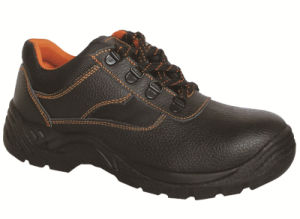 Ufa018 Genuine Leather Safety Footwear PU Injection Industrial Safety Shoes pictures & photos