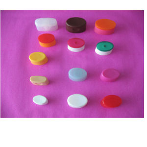 Plastic Oval Flip Caps for Tubes pictures & photos