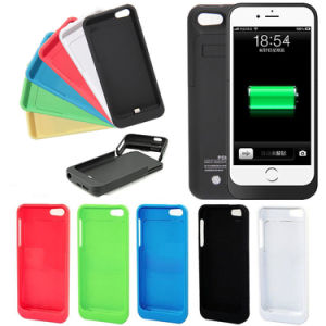 2200mAh Portable Battery Case Power Bank Pack Backup Charger for iPhone 5g-5s-5c
