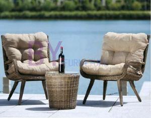 High-Grade European Hand-Weaving Outdoor Garden Table and Chair Furniture pictures & photos