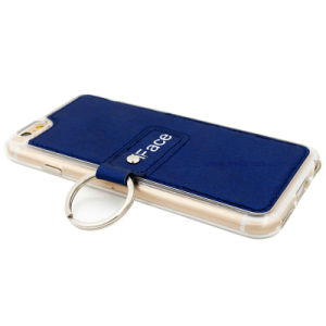 Leather PU Mobile Phone Case/Cover with Side Ring Holder pictures & photos