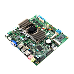 Onboard 4GB RAM Fanless 1037u Motherboard with 4*USB/VGA/24bit Lvds pictures & photos