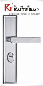 Good Quality SUS304 Hollow Satin Finish Door Lock (KTG-6810-026) pictures & photos