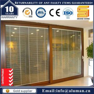 Aluminum Alloy Lift Sliding Patio Door with German Hardware (7150) pictures & photos