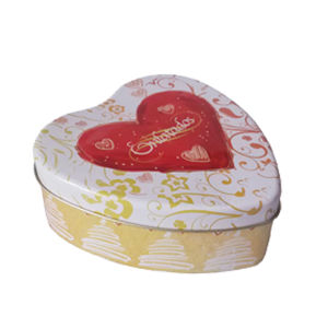 Heart Shaped Metal Box Can Tin Box pictures & photos