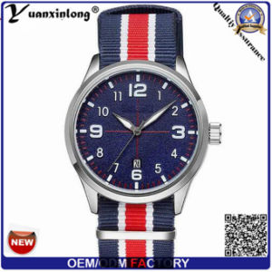 Yxl-862 Mens Watches Top Brand Luxury Military Men′s Canvas & Nato Wristband Quartz Wrist Watch pictures & photos