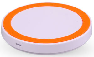 Circular Qi Wireless Charger with Foreign Object Detection Function pictures & photos