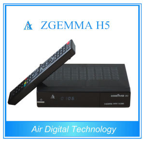 HD DVB T2 DVB S2 DVB C with Bcm73625 Zgemma H5 Support Hevc pictures & photos