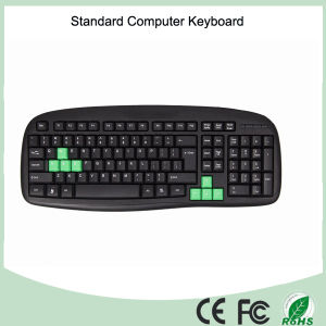 Free Samples Black Color Desktop Office Keyboard (KB-1988) pictures & photos
