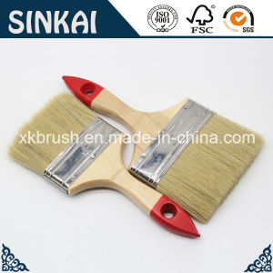 Wooden Handle Paint Brushes with Pure China Bristle pictures & photos