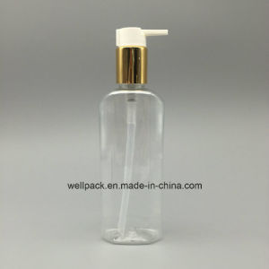 24mm 200ml Lotion Bottle with Aluminum Pump for Cosmetic Packaging pictures & photos