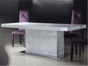 2016 New Style Dining Table Solid Wood Dining Table Ls-201A Luxury Dining Table Latest Dining Table Design pictures & photos