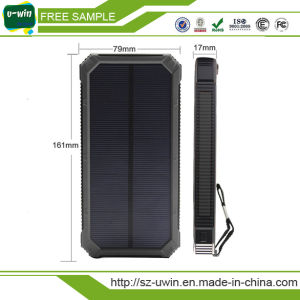 Free Samples Waterproof Solar Power Bank 8000mAh pictures & photos
