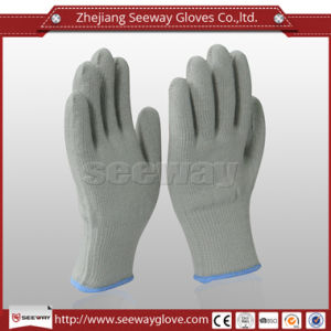 Seeway Custom Acrylic Knitted Outdoor Sports Thermal Safety Work Gloves with Napping Lining Windproof Winter Warm Wearing