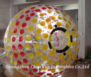 Colorful Dots Inflatable Zorb Ball for Grass Roller (CY-M1866) pictures & photos