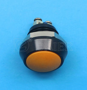 12mm Small Metal Dome Push Button Switch (GQ-12B/A) pictures & photos
